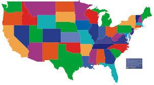 50 States Map Quiz Us Map Interactive Free Thempfa Org