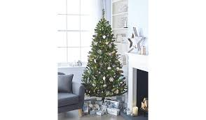 7ft green pre lit led christmas tree christmas shop george