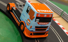 gulf racing truck scalextric nouveau produit team truck gulf no 68 mcm group