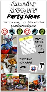 avengers party invitations printable free printables yesterday on tuesday