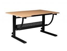 Art Drafting Table Martin Universal Design Liberty Ii Light Birch Melamine Drafting