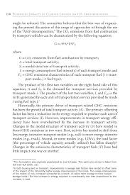 b contribution of u s transportation sectorto greenhouse gas