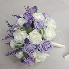 Silk Wedding Bouquet Artificial Wedding Flowers Canada Finding Wedding Ideas