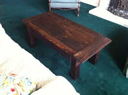 pallet coffee table little bits of