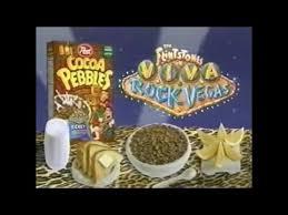 Teh Fruity cocoa pebbles the flintstones in viva rock vegas 2000