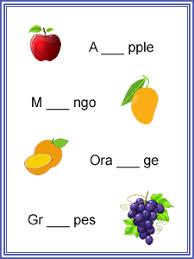 for kindergarten kids to find the missing letter worksheets