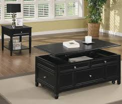long black coffee table custom black coffee table with storage augustineventures com