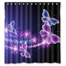 Purple Bathroom Curtains Purple Shower Curtains Ebay