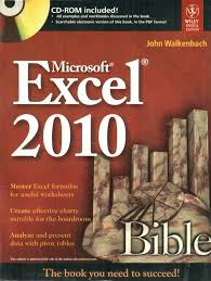 microsoft excel 2010 bible with cd buy microsoft excel 2010