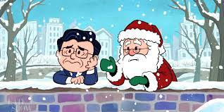 peanuts characters christmas stephen colbert releases depressing christmas special about