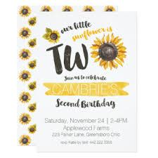 girls watercolor flowers birthday invitations u0026 announcements