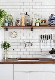 tendance credence cuisine étagères ouvertes dans la cuisine 53 idées photos