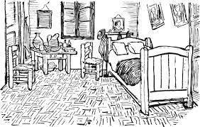 la chambre à coucher de vincent gogh sujet national juin 2013 séries technologiques travailler sur