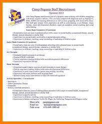 Residential Counselor Resume Resume Camp Counselor Description Eliolera Com