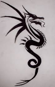 36 best tribal dragon tattoos images on pinterest tribal dragon