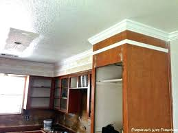 kitchen cabinets molding ideas installing crown molding on kitchen cabinets cutting crown molding