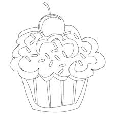 cupcake coloring pages getcoloringpages