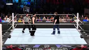 wwe 2k15 simulator grim vs pita kid yt wf heavyweight title