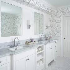 wallpaper ideas for bathrooms silver twiggy wallpaper design ideas