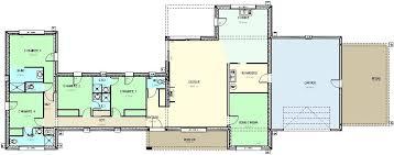 plan maison plain pied gratuit 4 chambres plan maison moderne plain pied gratuit lzzy co