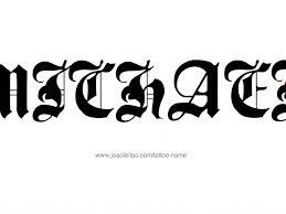 design the name michael tribal names