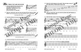theory time grade two workbook hardcopy workbook piano