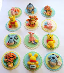 winnie the pooh cake topper winnie the pooh cake and cupcakes decorating ideas family