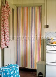 Curtain In Kitchen by Pw045 09 Striped Curtain In Kitchen Door Narratives Photo Agency