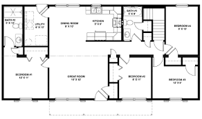 large ranch floor plans ranch style home floor plans on fairhaven model hv104 a