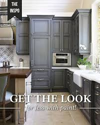 is nuvo cabinet paint giani granite get this striking charcoal cabinet and
