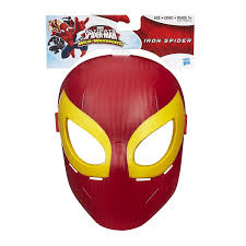 spiderman halloween costumes for kids amazon com marvel ultimate spider man iron spider mask toys u0026 games