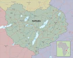 Africa Country Map Narubu U2013 Fictional Country Paul Markovich