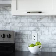 picture of backsplash kitchen peel and stick backsplash tile you ll
