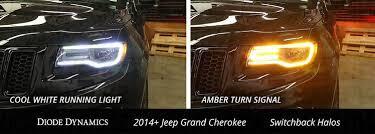 led lights for 2014 jeep grand 2014 2017 jeep grand switchback drl led halos led halos