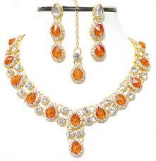orange necklace sets images Buy orange diamond necklace sets online jpeg
