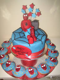 cupcake marvelous homemade spiderman cupcakes superman cupcake