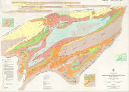 Geological Map Geological Map Of The Shubenacadie And Musquodoboit Basins