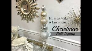 new diy dollar tree u0026 hobby lobby christmas ball topiary