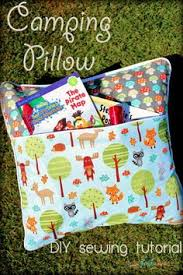 how to sew a reading pocket pillow reading pillow easy