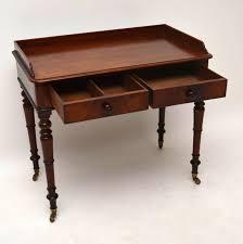 Schreibtisch Tisch Antik Early Victorian Mahagoni Schreibtisch Tisch Büroschreibtisch