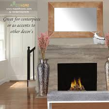 large decorative mirrors simple oval mirror with gray marble