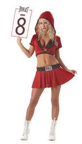 boxer costume everlast ring card girl costume purecostumes