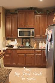 Creating A French Country Kitchen Cabinet Finish Using Chalk Paint - Kitchen cabinets finish