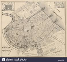 Map New Orleans Map New Orleans Stock Photos U0026 Map New Orleans Stock Images Alamy