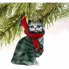 siamese cat ornament home kitchen