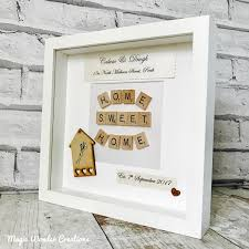 new home gift new home frame personalised new home gift housewarming gift