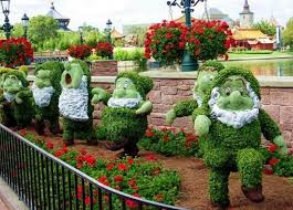 disney garden decor home inspirations