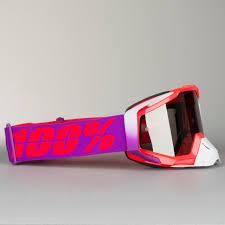 100 motocross goggle racecraft watermelon maschera cross 100 racecraft watermelon lilla adesso 41 sconto