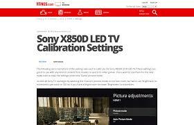 Bright Color Setting Sony X850d Led Tv Calibration Settings