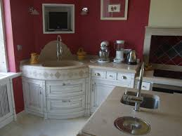 voir cuisine écorce ébéniste meuble évier concave